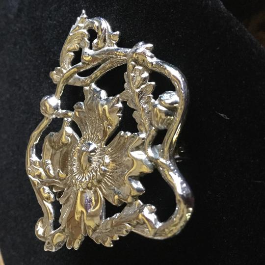 Other Sterling Silver Poppy Pin Image 2