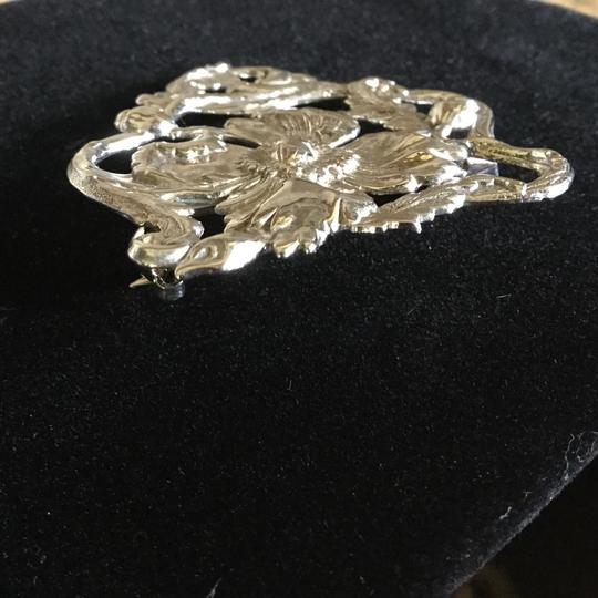 Other Sterling Silver Poppy Pin Image 3
