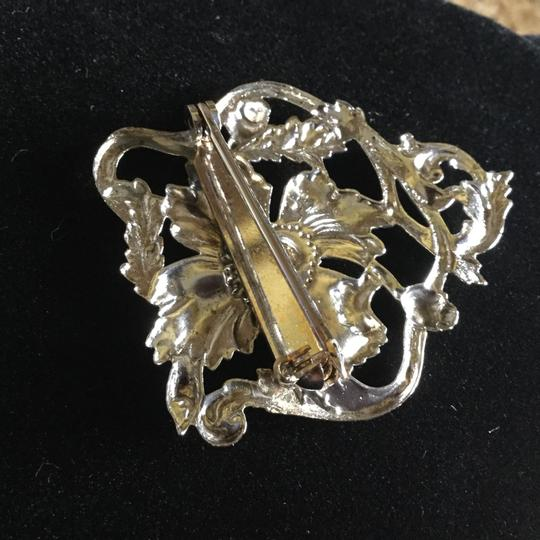 Other Sterling Silver Poppy Pin Image 5