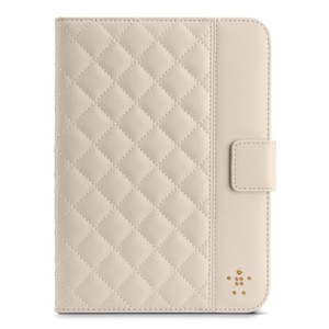 Belkin Belkin Quilted Cover with Stand for iPad mini (Cream)