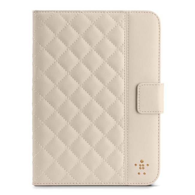 Item - Cream Quilted Cover with Stand For Ipad Mini (Cream) Tech Accessory