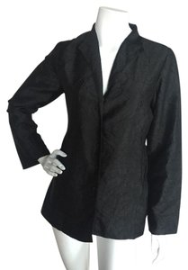Eileen Fisher Silk Black Jacket