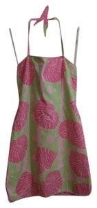 Lilly Pulitzer short dress Pink multi on Tradesy