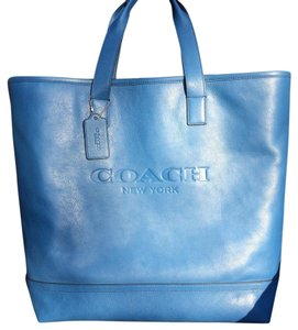 Coach Tote in Denim