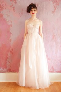 Sarah Seven Blushing Wedding Dress