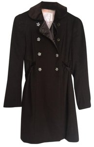 Rebecca Taylor Wool Cashmere Trench Coat