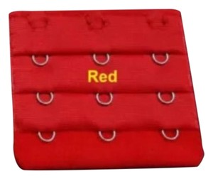 Other 5 PC Bra Extender: Red Triple Hook