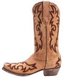 Old Gringo Distressed Cowboy Brown Multi Boots