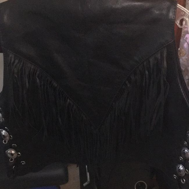 First genuine leather Vest Image 1