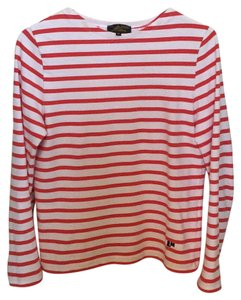 Le Mont S'Michel T Shirt Red and White