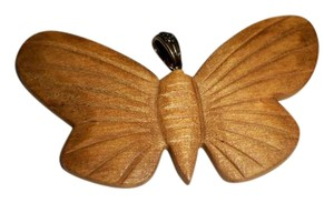 Juicy Couture Wooden Butterfly Pendant