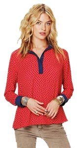 Free People Horses Top Red