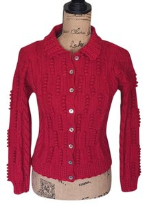 Joan Chatterley Cable Popcorn Stitch Sweater