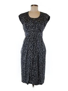 Cynthia Steffe Silk Print Shift Sheath Dress