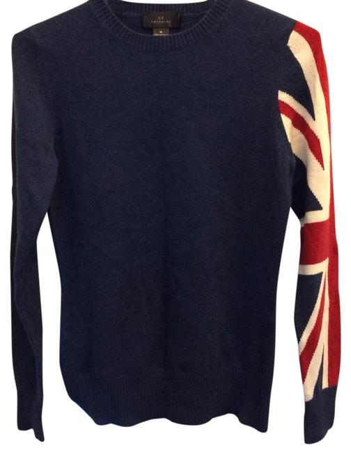Item - Navy/British Design Sweater