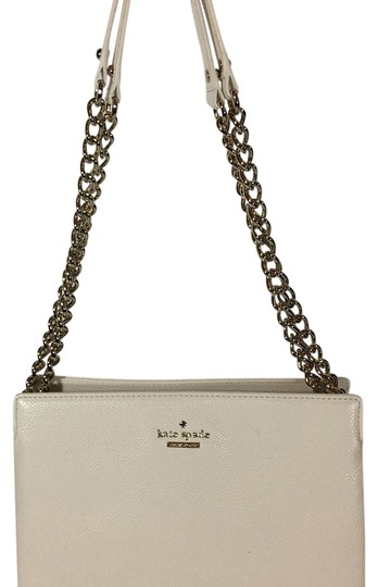 Preload https://img-static.tradesy.com/item/20070585/kate-spade-convertible-crossbody-white-leather-shoulder-bag-0-1-540-540.jpg