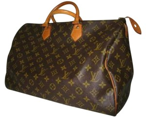 Louis Vuitton Monogram Leather Tote in Brown Monogram