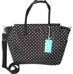 Kate Spade Black White Diaper Bag