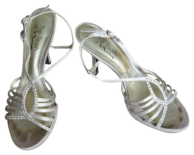 Item - Silver The Strappy Heels Formal Shoes Size US 9.5 Regular (M, B)