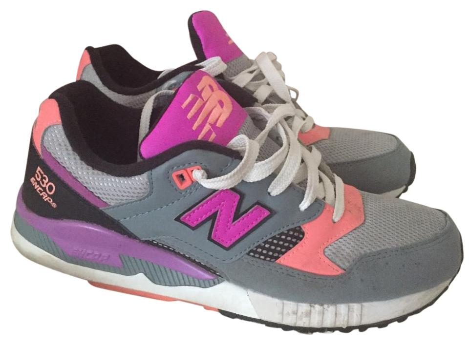 low priced 6c9f3 299d7 New Balance Black Pink Purple Grey 530 Encap Sneakers Size US 8.5 Regular  (M, B) 57% off retail