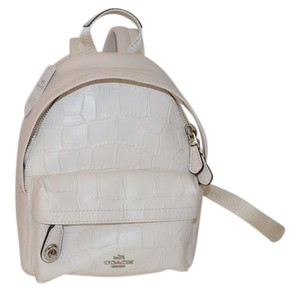 Coach 37715 Campus Embossed Leather Backpack