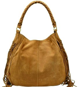 Linea Pelle Suede Lpcollection Hobo Bag