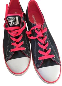 Converse Dark denim and bright pink Athletic