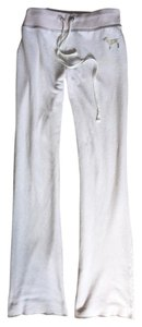 Victoria's Secret Sweats Victoria Flare Pants OFF WHITE