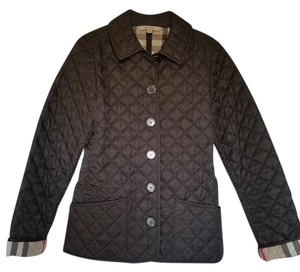 Burberry Brit Quilted Brown Jacket