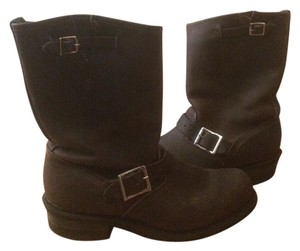 Frye Leather Motorcycle Moto Sexy Gaucho Boots