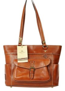 Patricia Nash Designs Leather Tote in Brown
