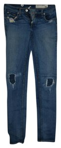 Rag & Bone The Dre & 24 Skinny Jeans-Medium Wash
