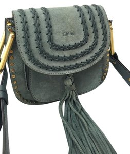 Chlo Hudson Mini Suede Fringe Cross Body Bag