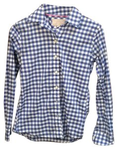 Banana Republic Button Down Shirt Blue