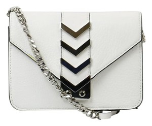 Mackage Chevron Leather Cross Body Bag