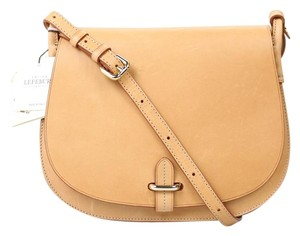 Lefebure Saddle Leather Cross Body Bag