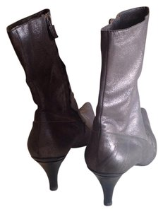 CoSTUME NATIONAL Silver Boots