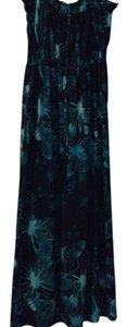 Green and blue Maxi Dress by Pure Energy