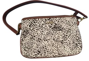 Fossil Fur Leather Shoulder Bag
