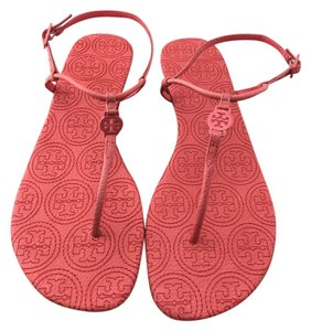 Tory Burch Stitched Emmy Miller Rose Petal Sandals