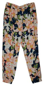 J.Crew Jogger Casual Gray Trouser Pants FLORAL