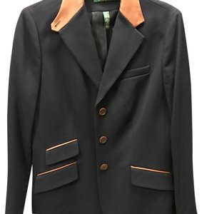 Ralph Lauren Navy/brown trim Blazer