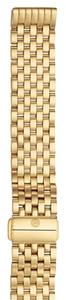 Michele Michele Deco II Gold Plated BRACELET ONLY