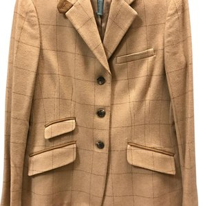 Ralph Lauren Beige/brown trim Blazer