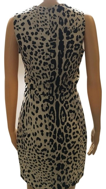 Item - Black Brown Doloe & Gabbana Knee Length Cocktail Dress Size 4 (S)