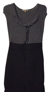 Be Bop short dress Grey and black on Tradesy