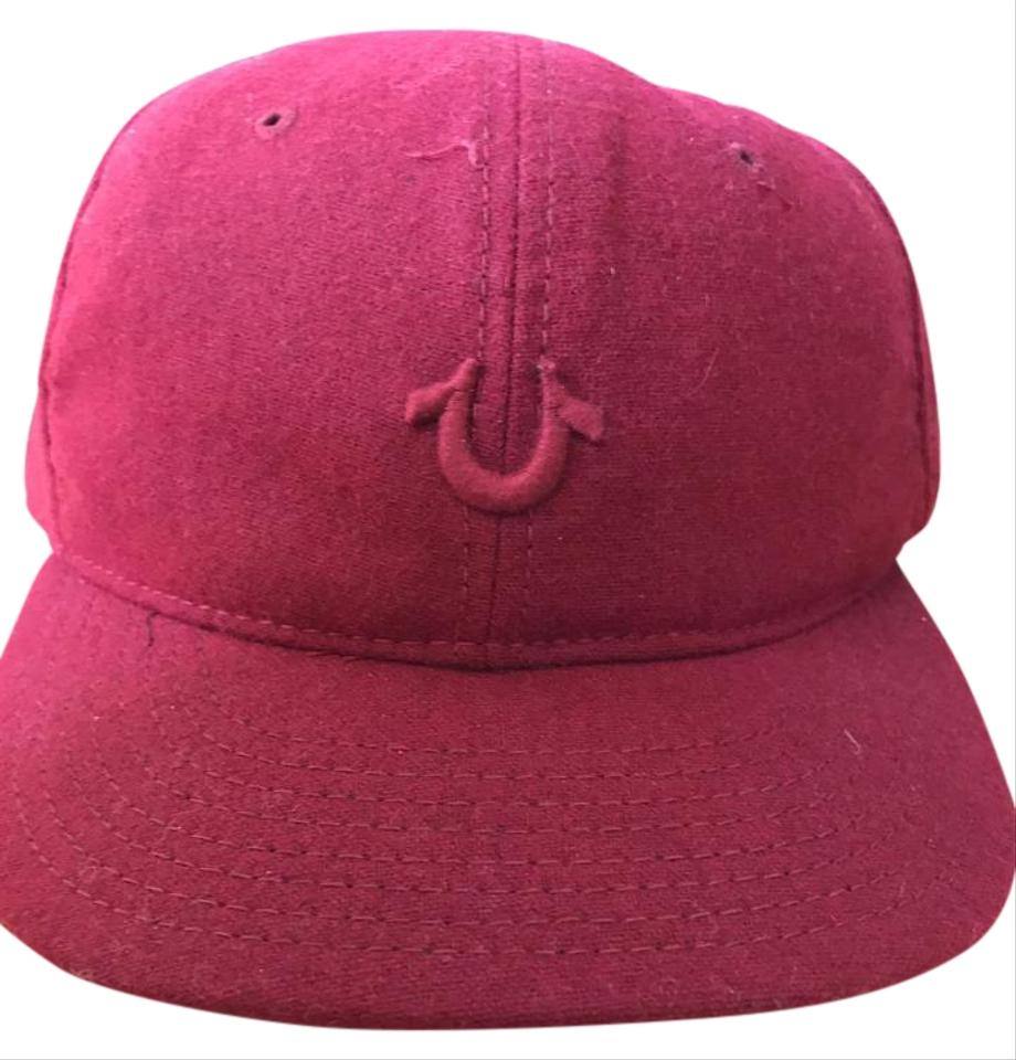e588f7f5 True Religion Red Baseball Cap - with Tags Hat - Tradesy