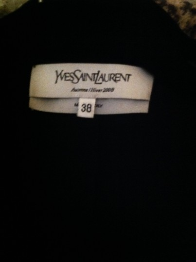 85%OFF Saint Laurent Crop Black Jacket