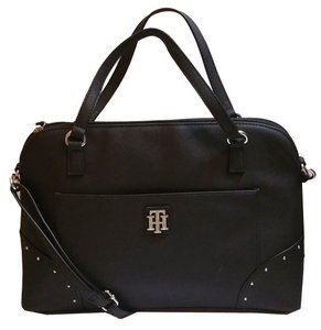 Tommy Hilfiger Purse Tote in black/gray/white