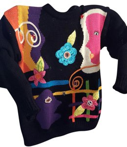 Cherry Stix Ltd. Artful Festive Social Sweater